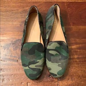JCrew Factory Camo Loafers